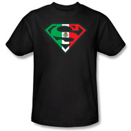 DC Comics Superman Mexican Flag Shield T-shirt