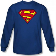 Superman Classic Shield Long Sleeve Shirt