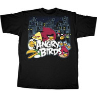 Angry Birds Conflict Adult T-shirt