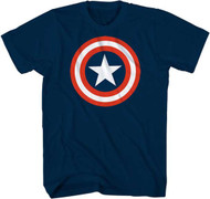 Captain America Shield Logo T-shirt