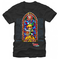 Nintendo Stained Glass Adult T-shirt