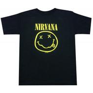Nirvana Smiley Face Smile T-Shirt