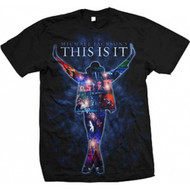 Michael Jackson - This Is It Collage Color Adult T-Shirt