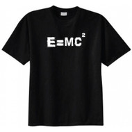 Albert Einstein E=MC2 Equation T-shirt