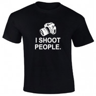 I Shoot People Adult T-Shirt