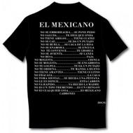 El Mexicano Spanish T-shirt