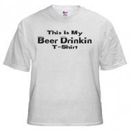 This Is My Beer Drinking T-shirt