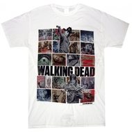 The Walking Dead Iconic Images Adult T-Shirt