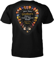 How Many Guitars Does a Guitar Player Need? Just One More T-shirt