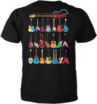 Guitar T-shirt - Life Is Full of Important Choices