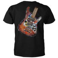 Rock & Roll Legends Guitar T-shirt