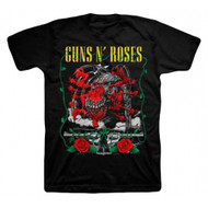 Guns N Roses Appetite Creature and Pistols Adult T-Shirt
