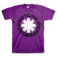Red Hot Chili Peppers Asterisk Pixel Peppers Purple T-shirt