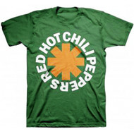 Red Hot Chili Peppers Asterisk Irish T-shirt