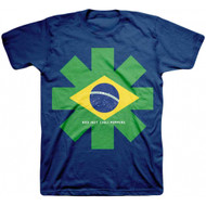 Red Hot Chili Peppers Brazil Asterisk Adult T-Shirt