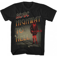 ACDC Highway To Hell Adult T-shirt