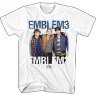 Emblem3 Group Photo Adult T Shirt