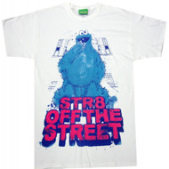 Sesame Street Cookie Monster Str8 Off The Street T-shirt