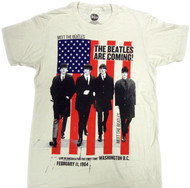 The Beatles - The Beatles Are Coming Adult T-Shirt