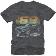 General Motors 69 Camero Adult T-shirt