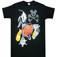 Disney Mickey Mouse Acid Drip Adult T-shirt