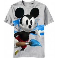 Disney Big Brush Epic Mickey Mouse T-shirt
