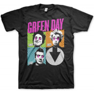 Green Day Spiral 4 Adult T-Shirt