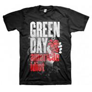Green Day Smoke Screen American Idiot Adult T-Shirt