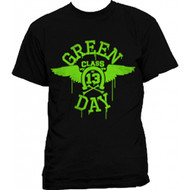Green Day Neon Wings Class 13 Adult T-Shirt