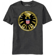 Agents Of Shield Madallion Logo Marvel Comics T-shirt