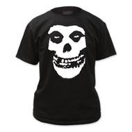 The Misfits Fiend Skull Logo Adult T-shirt