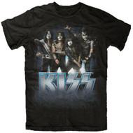 Kiss Blue Logo Pose T-Shirt