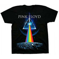 Pink Floyd Dark Side Invasion Adult T-Shirt