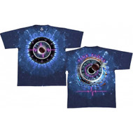 Pink Floyd Pulse Concentric Tie-Dye Adult T-Shirt