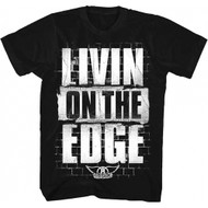 Aerosmith Livin On The Edge Adult T-Shirt