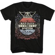 Aerosmith Bad Boys From Boston Adult T-Shirt