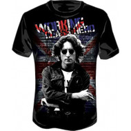 John Lennon Working Class Adult T-shirt