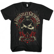 Brantley Gilbert Crossed Arms Adult T-Shirt