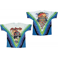 Allman Brothers Band - Mushroom Express Tie-Dye Adult T-Shirt