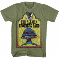 Allman Brothers Band - Hell Yeah Adult T-Shirt