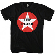 The Clash Star Logo Adult T-shirt