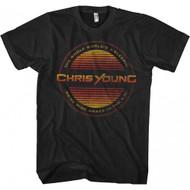 Chris Young Circle Lines Adult T-shirt