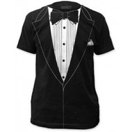 Original Retro Tuxedo Adult T-shirt