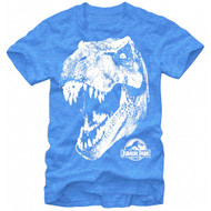 Jurassic Park TRex Head Adult T-Shirt