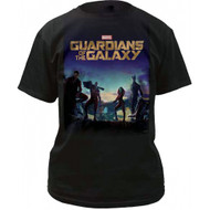 Marvel Guardians of the Galaxy Poster Adult T-Shirt