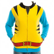 Marvel Wolverine Yellow Suit Up Adult Hoodie