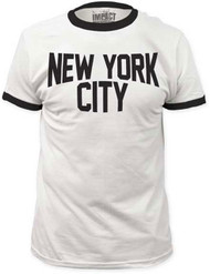 New York City Ringer Adult T-shirt