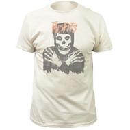 Misfits Classic Skull Distressed Print Adult T-shirt