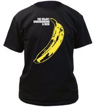 Velvet Underground Warhol Banana Adult T-shirt