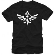 The Legend Of Zelda Triumphant Triforce Adult T-shirt